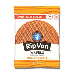 Rip Van Low Sugar Wafel Honey & Oats (48ct)