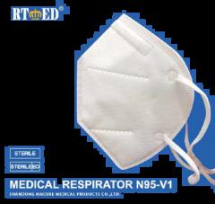 20-pc RT ED Medical Respirator N95-V1